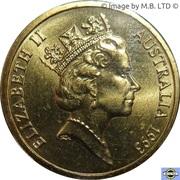 1 dollar - Elizabeth II (Protection des terres) -  avers
