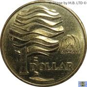 1 dollar - Elizabeth II (Protection des terres) -  revers