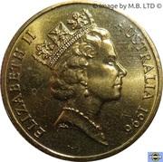 1 dollar - Elizabeth II (Henry Parkes) -  avers