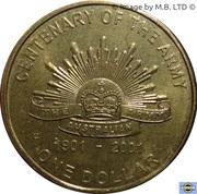 1 dollar L'armée -  revers