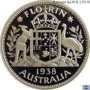 20 Cents - Elizabeth II (Masterpiece in Silver - 1938 Florin) -  revers