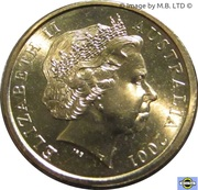 2 dollars Elizabeth II (4e effigie) -  avers
