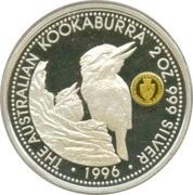 2 Dollars - Elizabeth II (Australian Kookaburra - Spade Guinea) -  revers
