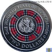 2 Dollar - Elizabeth II (100 Yrs repatriation) – revers