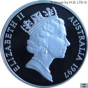 1 Dollar - Elizabeth II (Sir Charles Kingsford Smith) -  avers