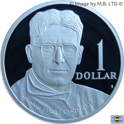 1 Dollar - Elizabeth II (Howard Florey) -  revers