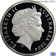 1 Dollar - Elizabeth II (Mob of Roos) Silver Proof – avers