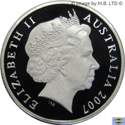1 Dollar - Elizabeth II (Sydney Harbour Bridge) Silver Proof -  avers