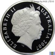 1 Dollar - Elizabeth II (Sydney Harbour Bridge) Silver Proof – avers
