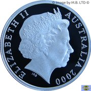 1 dollar HMAS Sydney II (argent) -  avers