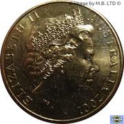 1 dollar - Elizabeth II (Fédération) -  avers