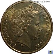 1 dollar - Elizabeth II (Année de l'Outback) -  avers