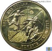 1 Dollar - Elizabeth II (4th portrait; Moments That Matter - NRL) -  revers