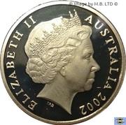 1 Dollar - Elizabeth II (4th portrait; Year of the Outback) -  avers