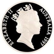 5 Dollars - Elizabeth II (Camel Pack Train) – avers