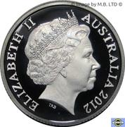 1 Dollar - Elizabeth II (Wheat Sheaf Dollar) – avers