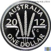 1 Dollar - Elizabeth II (Wheat Sheaf Dollar) – revers
