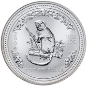 """2 Dollar - Elizabeth II (""""Lunar Year Series"""" Silver Bullion Coinage) -  revers"""