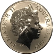 1 Dollar - Elizabeth II (Mob of Roos Silver Bullion Coinage) -  avers