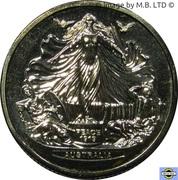 1 Dollar - Elizabeth II (Treaty of Versailes) – revers
