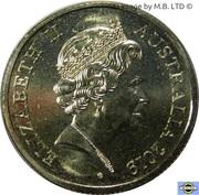 1 Dollar - Elizabeth II (5th portrait) -  avers