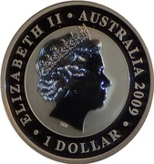 "1 Dollar - Elizabeth II (""Koala""; Gilded Edition) -  avers"