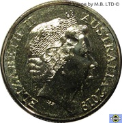 1 Dollar - Elizabeth II (The Rum Rebellion) -  avers