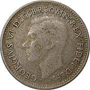 3 Pence - George VI (sans