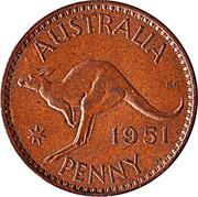1 Penny - George VI (sans