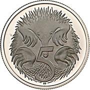 5 cents Elizabeth II (2e effigie) -  revers