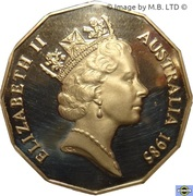 50 cents - Elizabeth II (3e effigie) -  avers