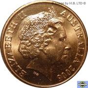 2 cents Elizabeth II (4e effigie) -  avers