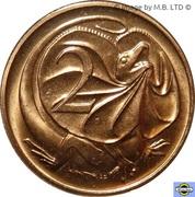 2 cents Elizabeth II (4e effigie) -  revers
