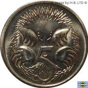 5 cents Elizabeth II (3e effigie) -  revers