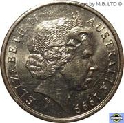 5 cents - Elizabeth II (4ème effigie) -  avers
