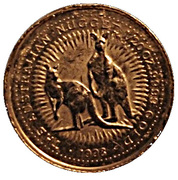 "5 Dollars - Elizabeth II (""Australian Nugget"" Gold Bullion Coinage) -  revers"
