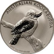 1 dollar Elizabeth II (4e effigie, kookaburra 2010) -  revers