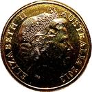 1 Dollar - Elizabeth II (4th portrait; Inspirational Australians - Sir Douglas Mawson) – avers