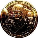 1 Dollar - Elizabeth II (4th portrait; Inspirational Australians - Sir Douglas Mawson) – revers