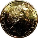 1 Dollar - Elizabeth II (150e anniversaire de la Burke & Wills expédition) – avers