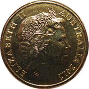 1 Dollar - Elizabeth II (4th portrait; Fields of Gold) – avers