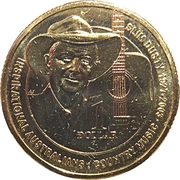 1 Dollar - Elizabeth II (4e Portrait, Slim Dusty) – revers
