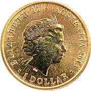 1 Dollar - Elizabeth II (Bush Babies II Series - Possum) -  avers