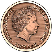 1 Dollar - Elizabeth II (4th portrait; When This you See, Remember Me) -  avers