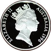 10 Dollars - Elizabeth II (Baleine franche australe) -  avers
