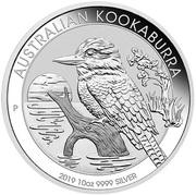 10 Dollars - Elizabeth II Australian Kookaburra -  revers