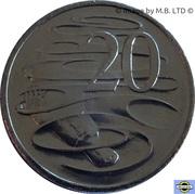 20 Cents - Elizabeth II (6th portrait) -  revers
