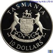 10 dollars Tasmanie -  revers