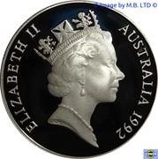 10 Dollars - Elizabeth II (Territoire du Nord) -  avers