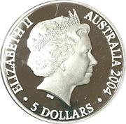5 Dollars (Adelaide to Darwin Railway) – avers
